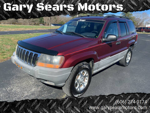1999 Jeep Grand Cherokee for sale at Gary Sears Motors in Somerset KY