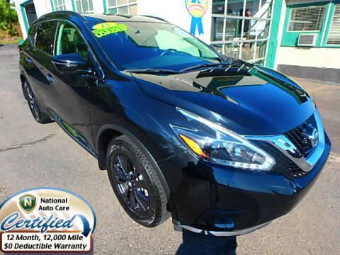 2018 Nissan Murano for sale at Jon's Auto in Marquette MI
