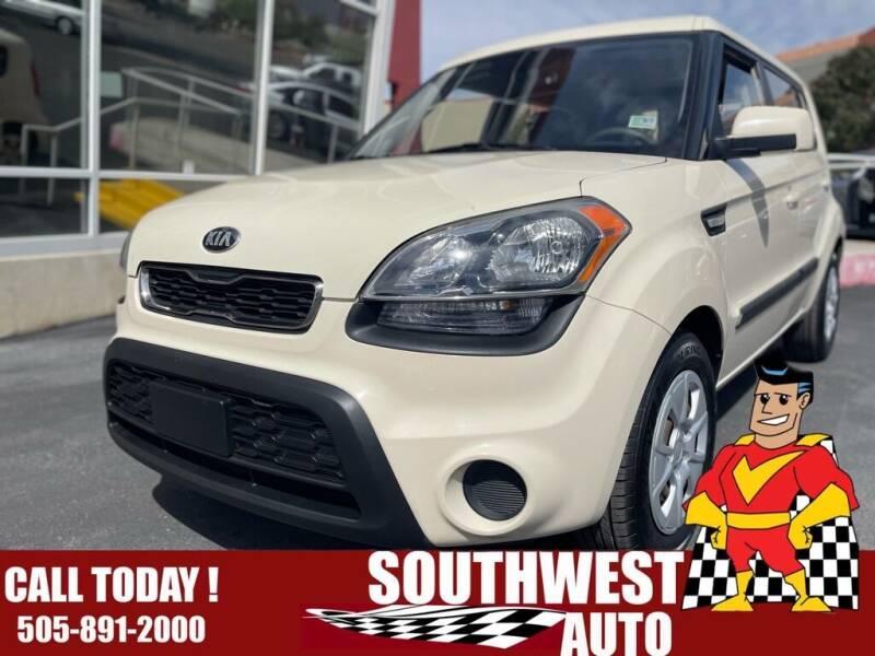 2013 Kia Soul for sale at SOUTHWEST AUTO in Albuquerque NM