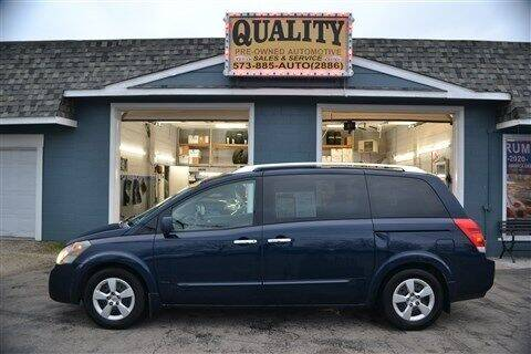 2007 Nissan Quest for sale at Quality Pre-Owned Automotive in Cuba MO