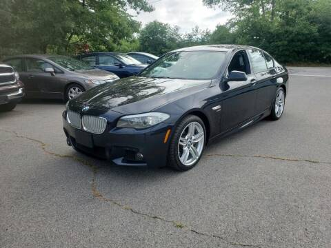 2012 BMW 5 Series for sale at Pelham Auto Group in Pelham NH