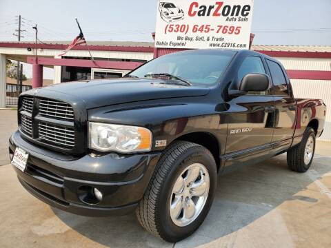 2004 Dodge Ram Pickup 1500 for sale at CarZone in Marysville CA