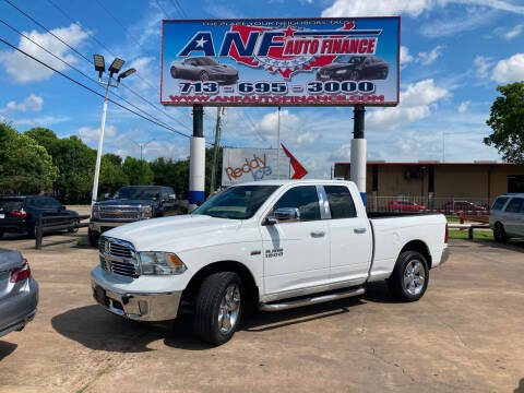 2014 RAM Ram Pickup 1500 for sale at ANF AUTO FINANCE in Houston TX