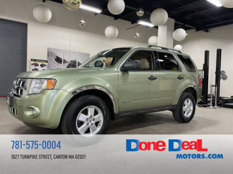 2008 Ford Escape for sale at DONE DEAL MOTORS in Canton MA