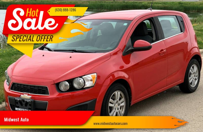 2012 Chevrolet Sonic for sale at Midwest Auto in Naperville IL