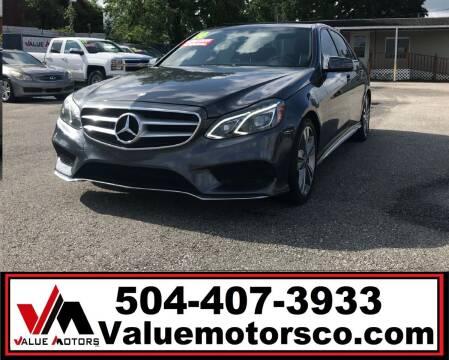 2014 Mercedes-Benz E-Class for sale at Value Motors Company in Marrero LA