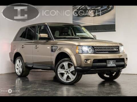 2013 Land Rover Range Rover Sport for sale at Iconic Coach in San Diego CA