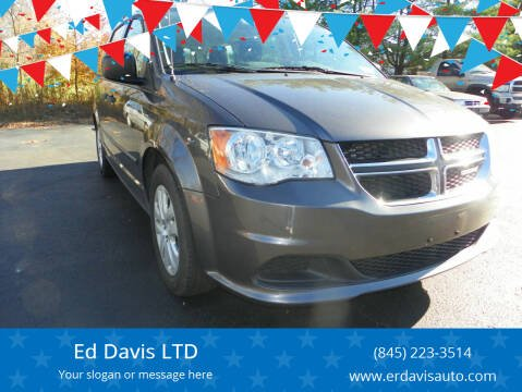 2016 Dodge Grand Caravan for sale at Ed Davis LTD in Poughquag NY