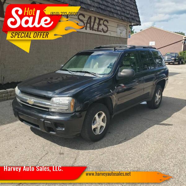 2006 Chevrolet TrailBlazer for sale at Harvey Auto Sales, LLC. in Flint MI