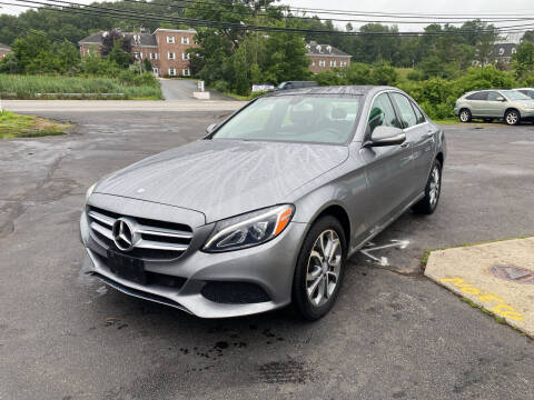 2015 Mercedes-Benz C-Class for sale at Turnpike Automotive in North Andover MA