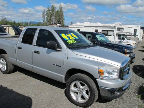 2008 Dodge Ram Pickup 1500 for sale at Oregon RV Outlet LLC - Travel Trailers in Grants Pass OR