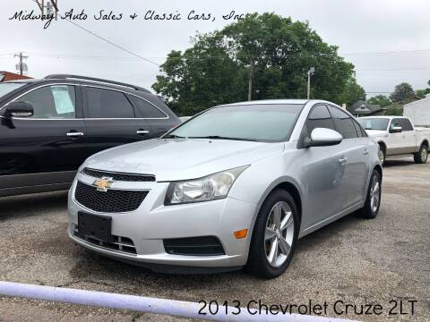 2013 Chevrolet Cruze for sale at MIDWAY AUTO SALES & CLASSIC CARS INC in Fort Smith AR