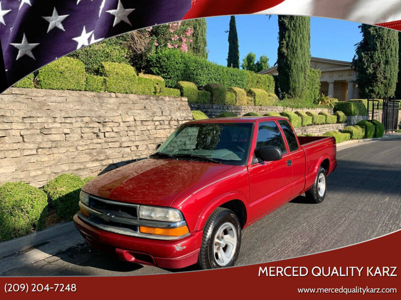 1998 Chevrolet S-10 for sale in Merced, CA