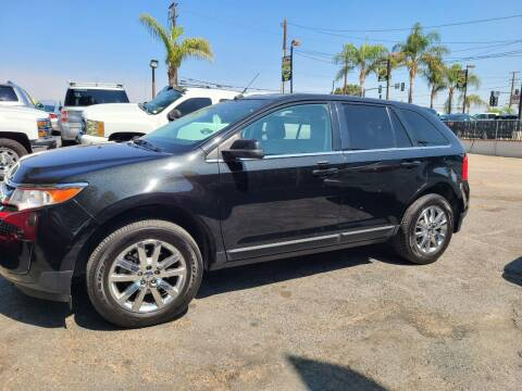 2014 Ford Edge for sale at E and M Auto Sales in Bloomington CA