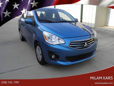 2018 Mitsubishi Mirage G4 for sale at MILAM KARS in Bossier City LA
