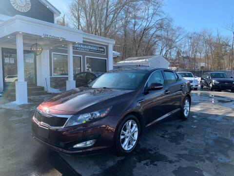 2013 Kia Optima for sale at Ocean State Auto Sales in Johnston RI