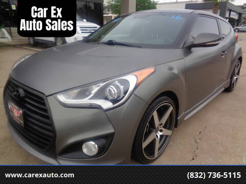 2015 Hyundai Veloster for sale at Car Ex Auto Sales in Houston TX
