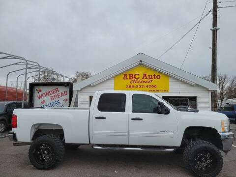 2011 Chevrolet Silverado 2500HD for sale at ABC AUTO CLINIC - Chubbuck in Chubbuck ID