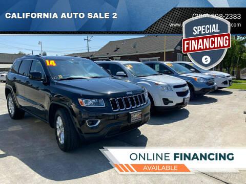2014 Jeep Grand Cherokee for sale at CALIFORNIA AUTO SALE 2 in Livingston CA