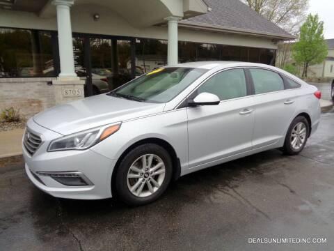 2015 Hyundai Sonata for sale at DEALS UNLIMITED INC in Portage MI