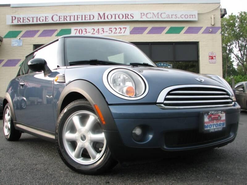 2010 MINI Cooper for sale at Prestige Certified Motors in Falls Church VA