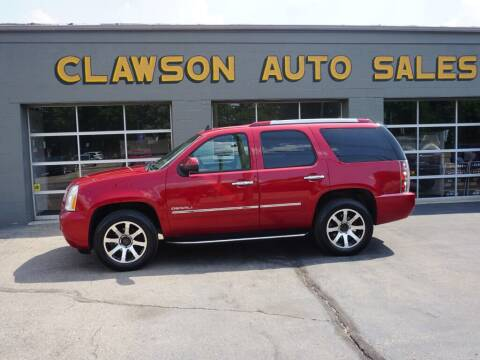 2012 GMC Yukon for sale at Clawson Auto Sales in Clawson MI