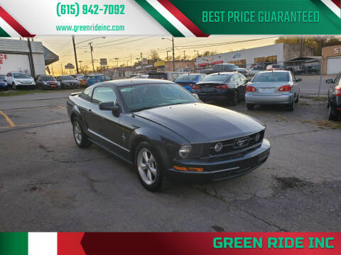 2008 Ford Mustang for sale at Green Ride Inc in Nashville TN