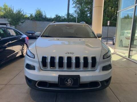 2015 Jeep Cherokee for sale at CU Carfinders in Norcross GA