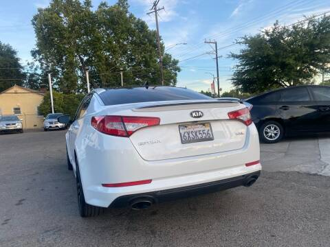 2013 Kia Optima for sale at A1 Auto Sales in Sacramento CA