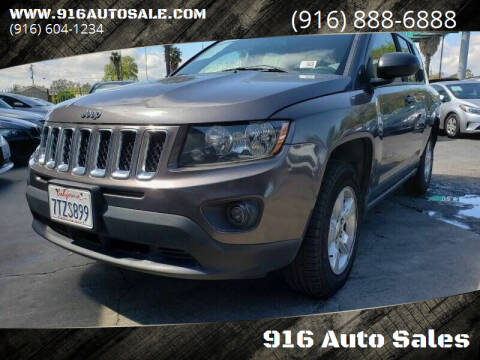 2015 Jeep Compass for sale at 916 Auto Sales in Sacramento CA