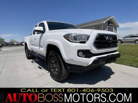 2018 Toyota Tacoma for sale at Auto Boss in Woods Cross UT
