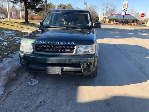 2010 Land Rover Range Rover Sport for sale at NORTH CHICAGO MOTORS INC in North Chicago IL