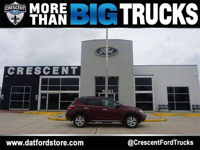 2011 Nissan Murano for sale at Crescent Ford in Harahan LA