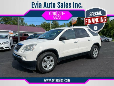 2011 GMC Acadia for sale at Evia Auto Sales Inc. in Glens Falls NY