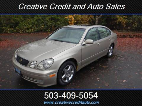 1999 Lexus GS 300 for sale at Creative Credit & Auto Sales in Salem OR