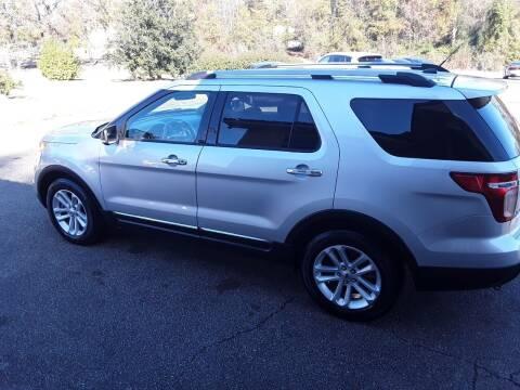 2015 Ford Explorer for sale at WALKER MOTORS LLC in Hattiesburg MS