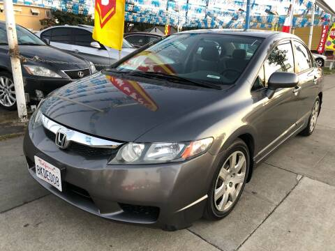 2011 Honda Civic for sale at Plaza Auto Sales in Los Angeles CA