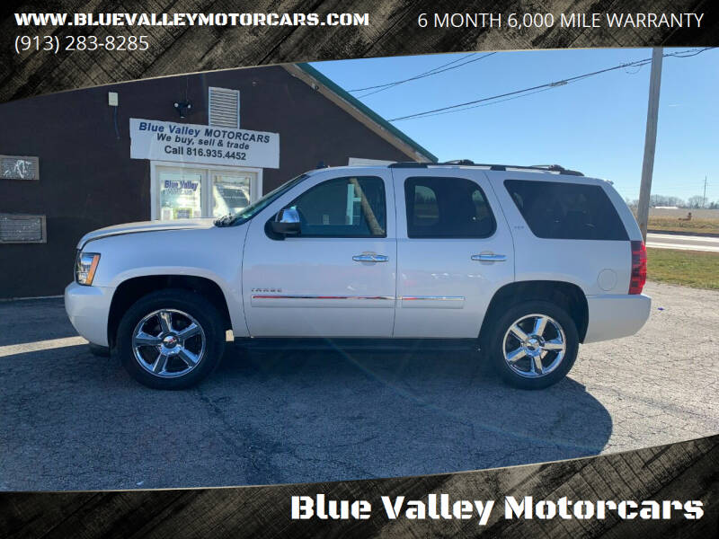 2013 Chevrolet Tahoe for sale at Blue Valley Motorcars in Stilwell KS