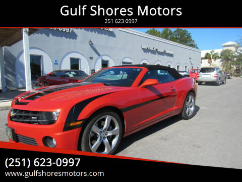 2011 Chevrolet Camaro for sale at Gulf Shores Motors in Gulf Shores AL