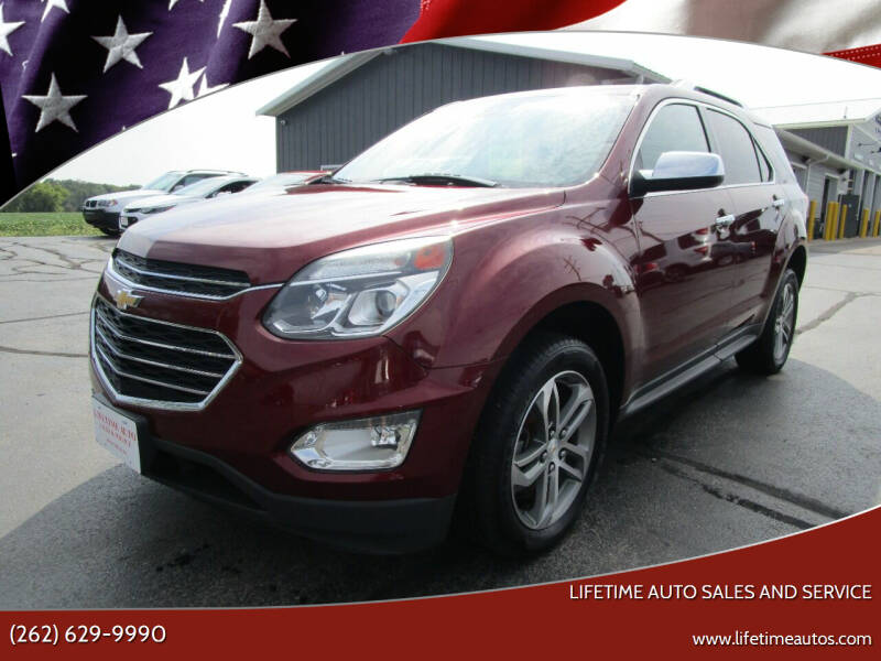 2016 Chevrolet Equinox for sale at Lifetime Auto Sales and Service in West Bend WI