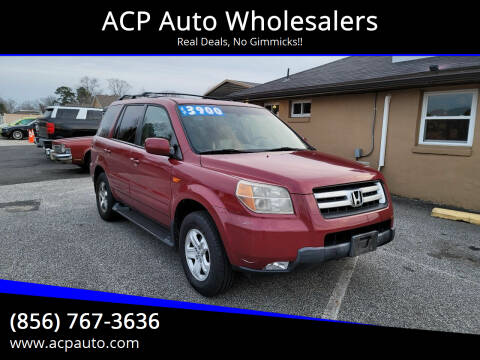 2006 Honda Pilot for sale at ACP Auto Wholesalers in Berlin NJ