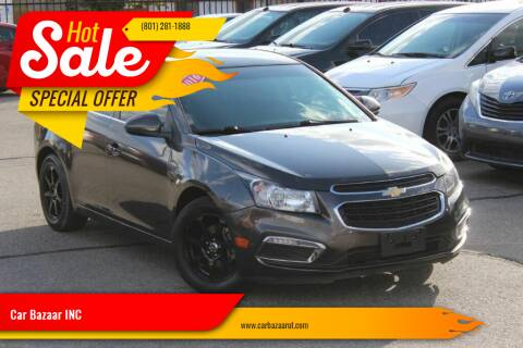 2016 Chevrolet Cruze Limited for sale at Car Bazaar INC in Salt Lake City UT