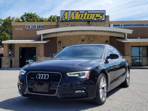 2014 Audi A5 for sale at A MOTORS SALES AND FINANCE - 10110 West Loop 1604 N in San Antonio TX