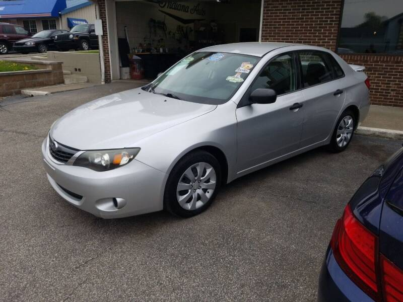 2008 Subaru Impreza for sale at Indiana Auto Sales Inc in Bloomington IN