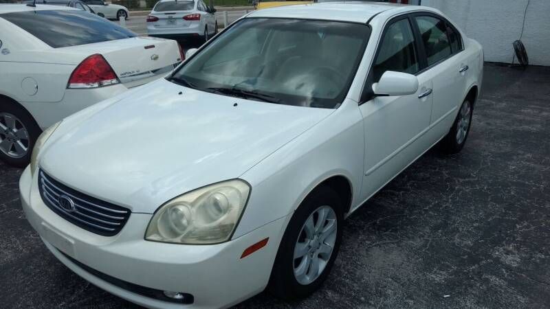 2008 Kia Optima for sale at AFFORDABLE AUTO SALES in Saint Petersburg FL