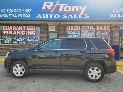 2010 GMC Terrain for sale at R Tony Auto Sales in Clinton Township MI