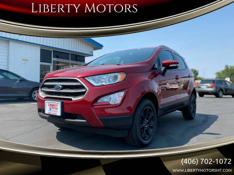 2020 Ford EcoSport for sale at Liberty Motors in Billings MT