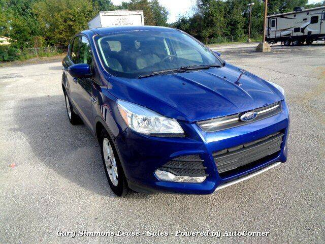 2015 Ford Escape for sale at Gary Simmons Lease - Sales in Mckenzie TN