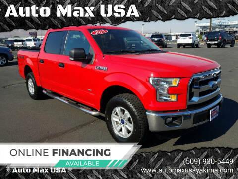 2015 Ford F-150 for sale at Auto Max USA in Yakima WA
