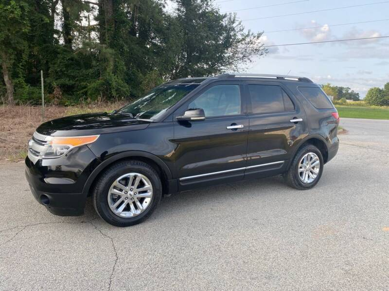 2013 Ford Explorer for sale at GTO United Auto Sales LLC in Lawrenceville GA